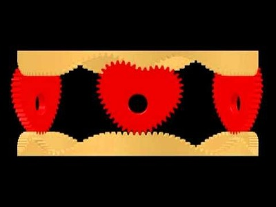 Heart-shaped gear ring