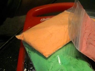 How I Turn Chalk Into Powder