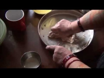 How To Knead Flour Dough To Make Chapatis (Indian Flat-bread)
