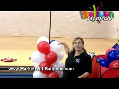 How To Make a Balloon Column