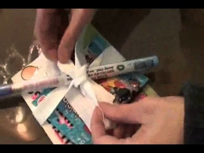 How to make a creative birthday party loot bag
