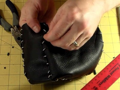 How to Make a Medieval Leather Belt Pouch