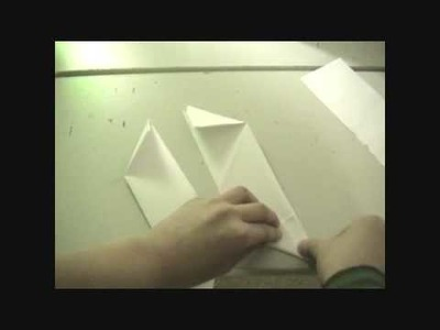 How to make a ninja star (Shuriken) out of paper *this one is the better one*