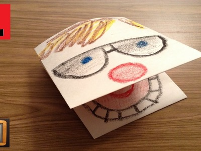 How to Make a Paper Puppet (Face)