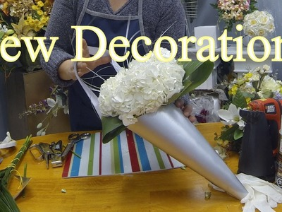 How to Make a Pew Decoration with Fresh or Artificial Flowers