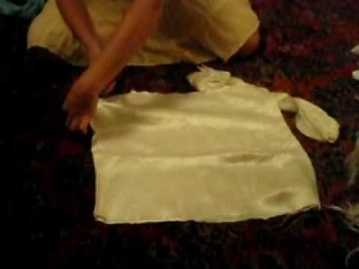 How to Make a Shirt out of a pillowcase