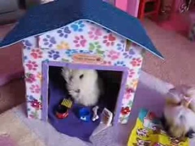 How to Make an American Girl Dog House