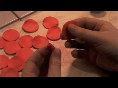 How to make clay roses for your mom for mother's day