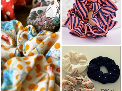 How To Make :  Hair Scrunchie - DIY