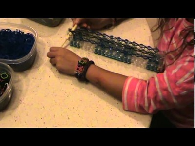 How to make Rainbow Loom Fat Bracelet