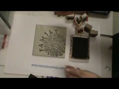 How to make stamp a tile