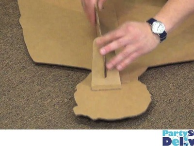 How to Put Together A Cardboard Standup