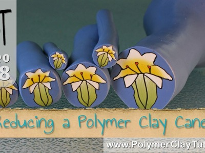 How To Reduce A Polymer Clay Cane