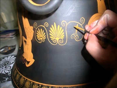 How were the ancient Greek vases made  - painting process