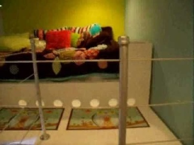 Kids Loft Bed Built from wood - Boy or Girls Room