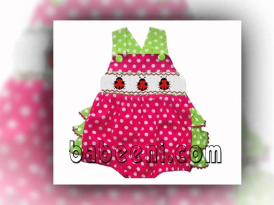 Little girls smocked dresses, spring and summer smocked dress 2013