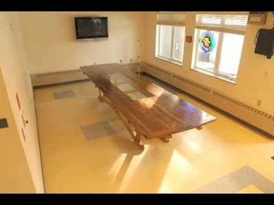 """""""Mad Dawg Table"""", a 14 foot custom dining table"""