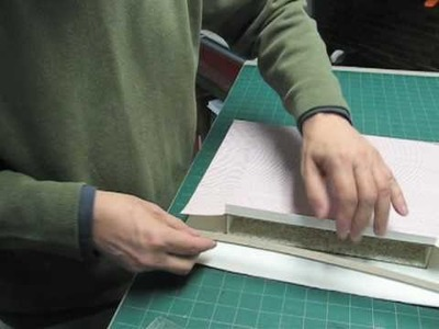 Making  a Slipcase Pt3 - Covering