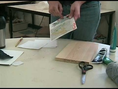 Ms. Murphy's Collagraph Demonstration