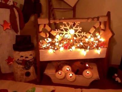 My Country Christmas Home Decor!