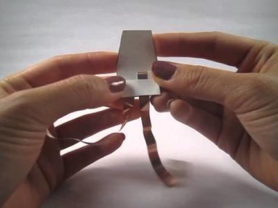 Paper battery holder tutorial