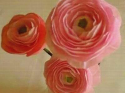 Paper Flower - Ranunculus. Persian Buttercup