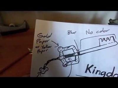 Paper Keyblade TUTORIAL
