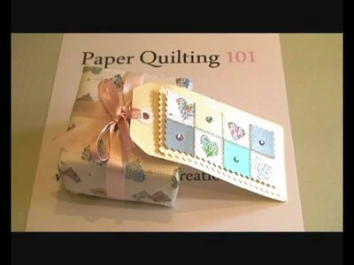 Paper Quilting 101 - How to make a Paper Quilt Gift Tag