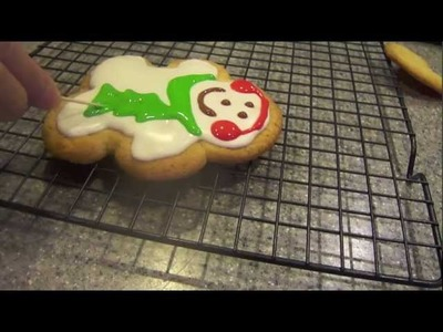 Part 1 of how to make and decorate Christmas cookies