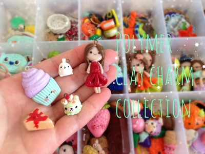 Polymer clay charm collection- 2014