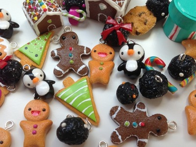 Polymer Clay Charm Update #16 CHRISTMAS CHARMS!!