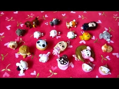 Polymer Clay Charm Update #8 - Kawaii Animals, Molang And More!