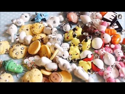 Polymer Clay Charms Update #8 : Baymax , Pokemon , Totoro etc