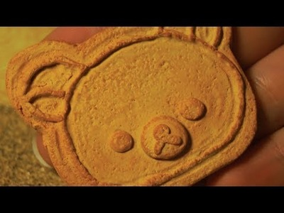 Polymer Clay Rilakkuma Cookie Tutorial