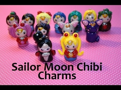 Polymer Clay: Sailor Moon Chibi Charms