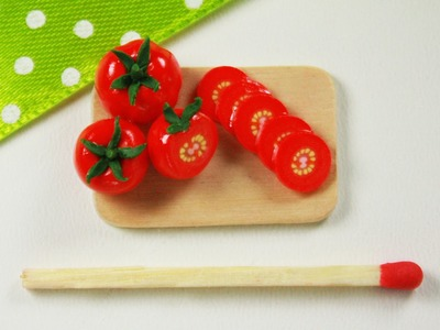 Polymer clay Tomato Cane TUTORIAL