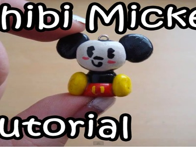 Polymer Clay Tutorial: How to Make a Cute Chibi Mickey Mouse Charm