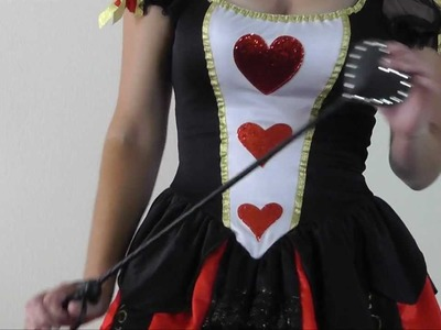 Sexy Alice in Wonderland Queen Of Hearts Halloween Costume 2011 from ilovesexy.com