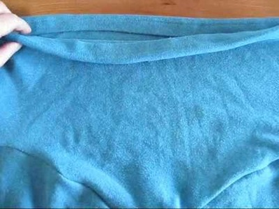Shirt Sleeves to Yoga Capris the Video Tutorial