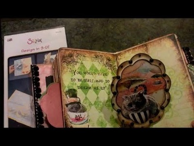 Sizzix Spinning Platform Die Tutorial - how to Make Pop-Up Cards, Books and Albums
