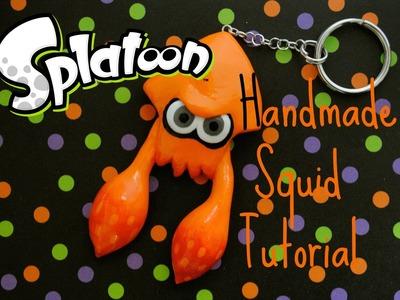 SPLATOON Inkling.Squid Tutorial- Handmade Polymer Clay Sculpture (Amiibo)
