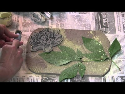 Stampendous Stamping In Clay