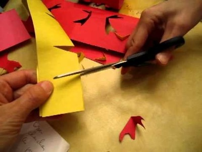 Try to make paper lantern 02