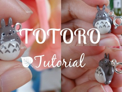 Tutorial #3 - Totoro! Polymer Clay Charm ♡