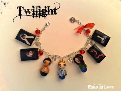 Twilight Polymer clay Bracelet