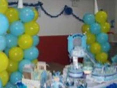 Birthday Balloon Decor