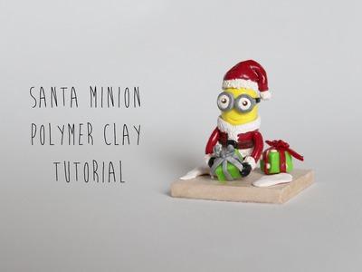Christmas Special: Santa Minion (Despicable Me 2) Polymer Clay Tutorial