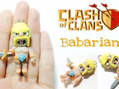 [Clash Of Clan Series] Polymer Clay Barbarian Tutorial