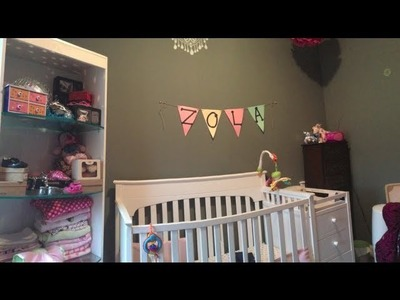 Decorating a Nursery with Limited Space