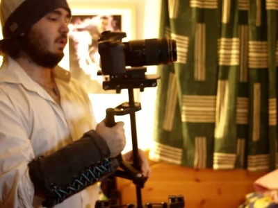 DIY arm brace.support for Glidecam. Flycam. Steadicam